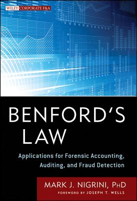 Benford's Law By Nigrini, Mark
