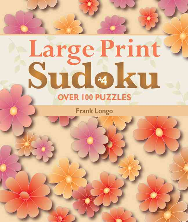 Large Print Sudoku By Longo, Frank